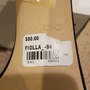 94f089813e22 Aldo Shoes - ALDO NIB fiolla sandal black sequin